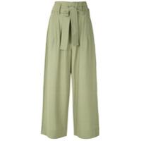 Egrey Calça Pantalona Thea - Verde
