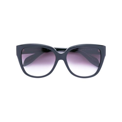 deeb658807425 Imagem de Alexander Mcqueen Eyewear Óculos de sol oversized - Preto
