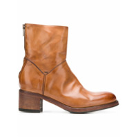 Pantanetti Zip Ankle Boots - Marrom