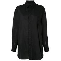 Y's Camisa Lisa - Preto