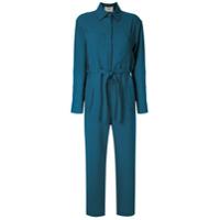 Egrey Macacão Com Amarração - Azul