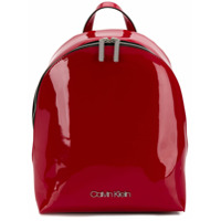 Calvin Klein Mochila Arredondada - Vermelho