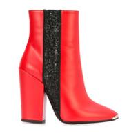 Amiri Ankle Boot De Couro - Vermelho