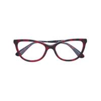 Dolce & Gabbana Eyewear Óculos Com Armação Gatinho - Vermelho