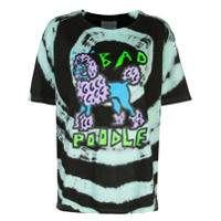 Ashley Williams Camiseta Bad Poodle Com Estampa - Preto