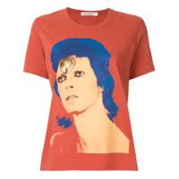 Undercover Camiseta Com Estampa Bowie - Laranja