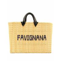 Folkloore Tunisian Favignana Tote Bag - Marrom