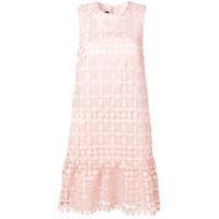 Sly010 Vestido Com Renda - Rosa
