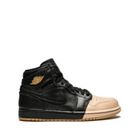 Jordan Tênis Air Jordan 1 Retro High P - Preto
