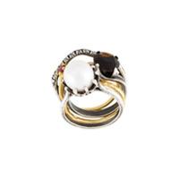 Iosselliani Conjunto De Anéis 'silver Heritage' - Metálico