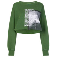 Each X Other Long Sleeved Loose Sweatshirt - Verde