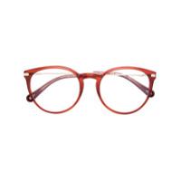 Chloé Eyewear Óculos Com Armação Oversized - Vermelho
