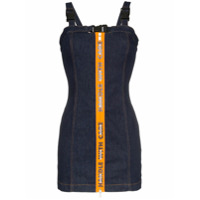 Heron Preston Vestido Jeans 'handle With Care' - Azul