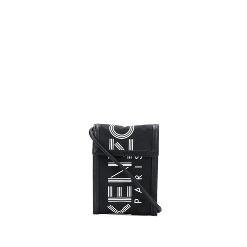 Kenzo logo camera bag - Preto