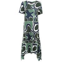 Alcaçuz Vestido 'ferreiro' Estampado - Green