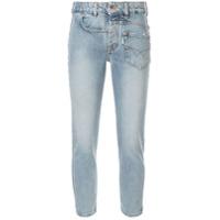 Filles A Papa Calça Jeans Skinny - Azul
