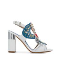 Albano Sapato Com Aplicações - Branco
