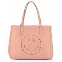 Anya Hindmarch Bolsa Tote 'ebury Smiley' - Rosa