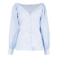 Isolda Camisa 'paeonia' Mangas Longas - Azul