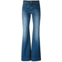 Michael Michael Kors Calça Jeans Flare - Azul