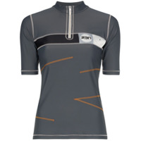 Rbn X Bjorn Borg Camisa Polo X Rbn Com Zíper - Cinza