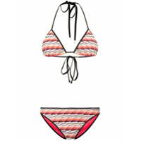 Missoni Mare Fine Knit Bikini Set - Laranja