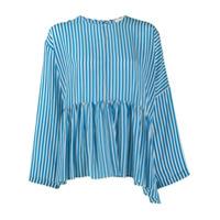 Alysi Camisa Listrada - Azul