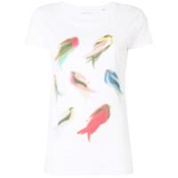 Ioana Ciolacu Camiseta 'stock' - Branco