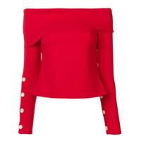 A.w.a.k.e. Mode Blusa Ombro A Ombro - Vermelho