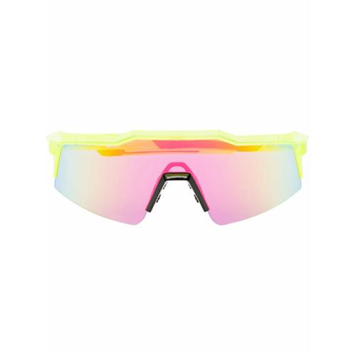 Imagem de 100% Eyewear Óculos de sol 'SpeedCraft' - Amarelo