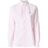 Polo Ralph Lauren Camisa Com Logo - Rosa