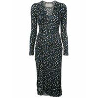 Jason Wu Collection Vestido Com Estampa Floral - Preto