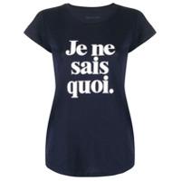 Zadig&voltaire Camiseta Com Estampa De Slogan - Azul