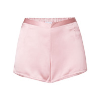 La Perla Shorts De Pijama Em Seda - Rosa