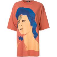 Undercover Camisa Oversized Bowie - Laranja
