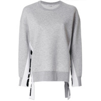 Stella Mccartney Blusa De Moletom 'all Is Love' - Cinza