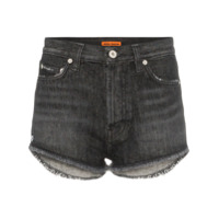 Heron Preston Short Jeans - Preto