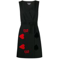 Boutique Moschino Vestido Com Estampa - Preto