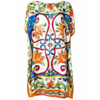 Dolce & Gabbana Blusa Body De Seda - Estampado