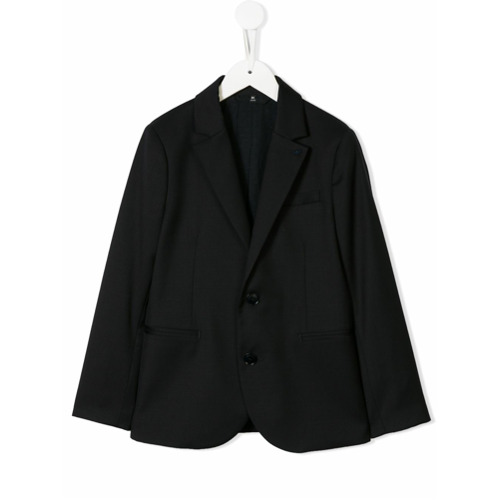 Imagem de Emporio Armani Kids single breasted blazer - Azul
