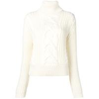 Jacob Cohen Suéter Com Padronagem - Branco