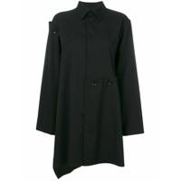 Yohji Yamamoto Camisa Assimétrica - 1 Black