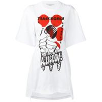 Stella Mccartney Camiseta Com Estampa Gráfica - Branco
