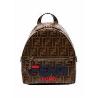 Fendi Mochila Mini Com Logo - Neutro