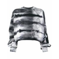 Amiri Suéter Com Estampa Tie-Dye - Branco