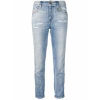 Diesel Calça Jeans Slim 'babhila' - Azul