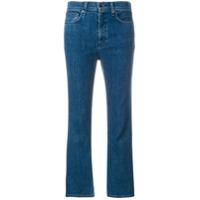 Rag & Bone Calça Jeans Flare Cropped - Azul
