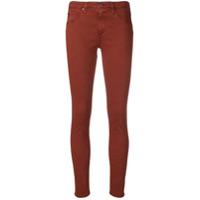 Ag Jeans Calça Jeans Skinny - Marrom