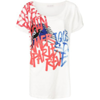 Faith Connexion Camiseta Com Estampa - Branco