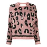 Shirtaporter Suéter Com Estampa De Oncinha - Rosa